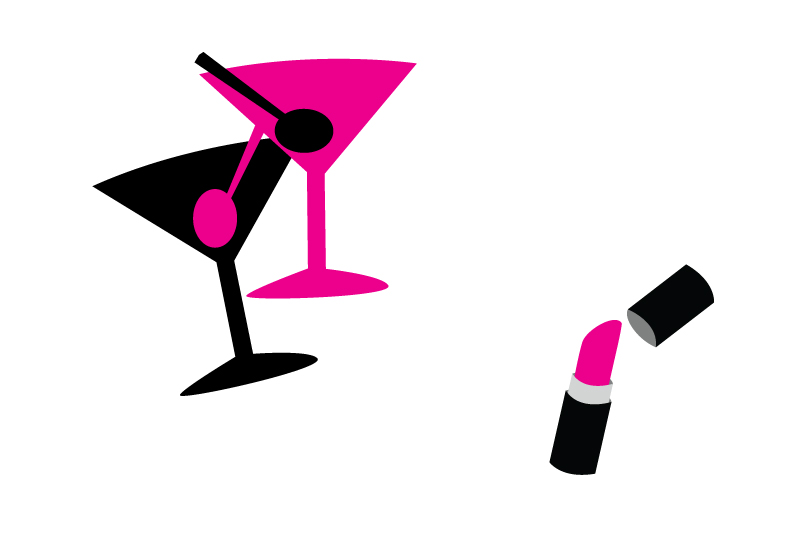 Simple Martinis and Lipstick