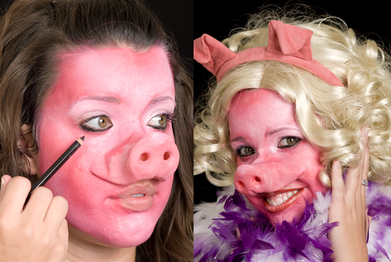 Pig Character Makeup Kit