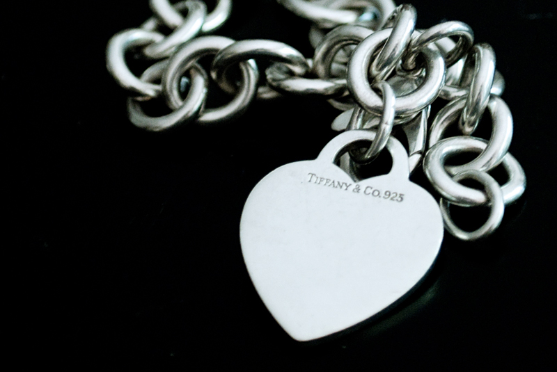 Silver Tiffany Heart