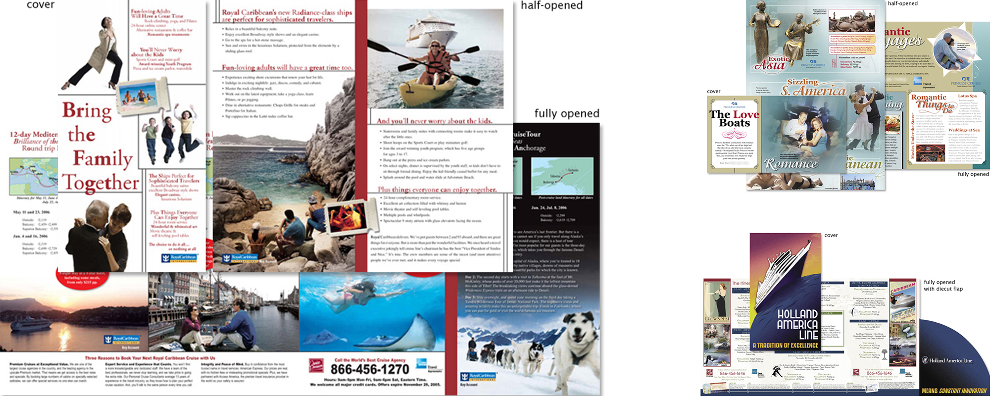 Direct Mail for Premium Cruises