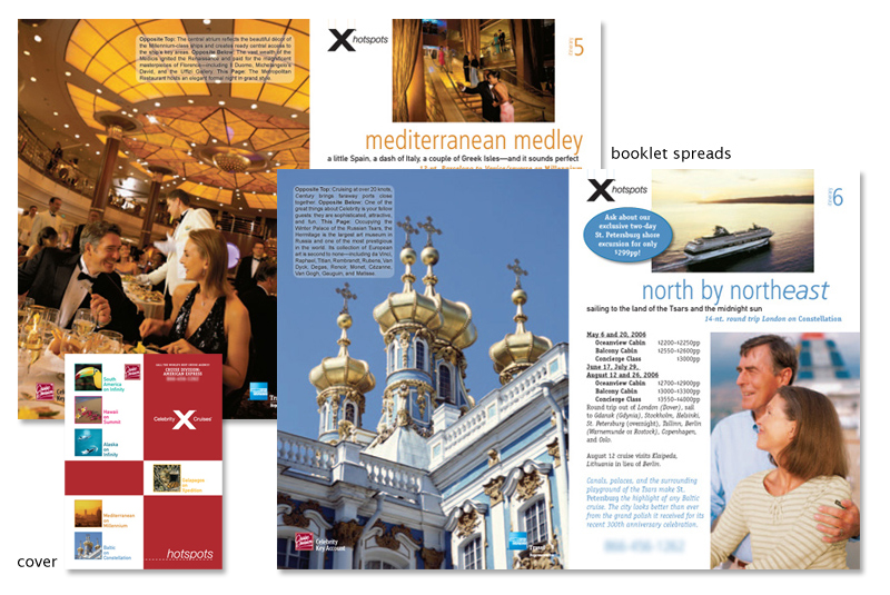 Celebrity Cruises booklet 3