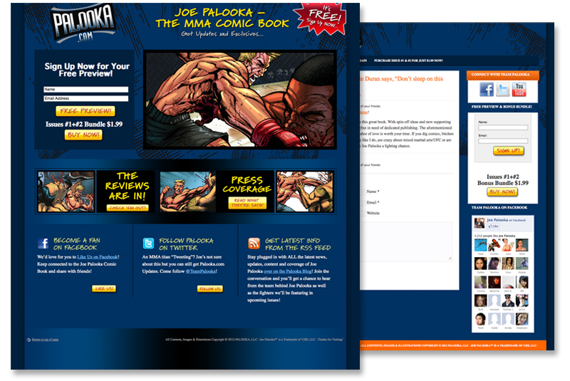 Comic Wordpress Theme
